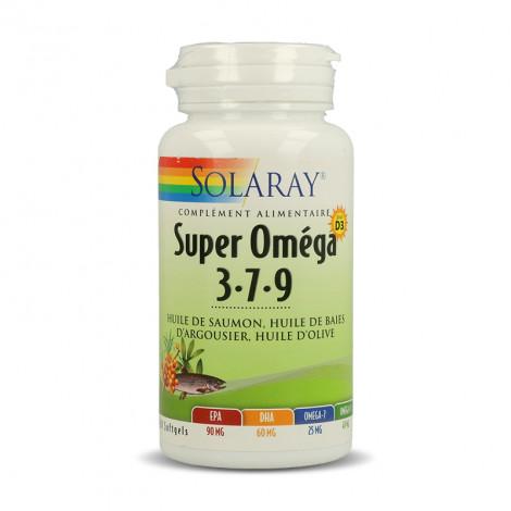 Super oméga 3-7-9 + D3
