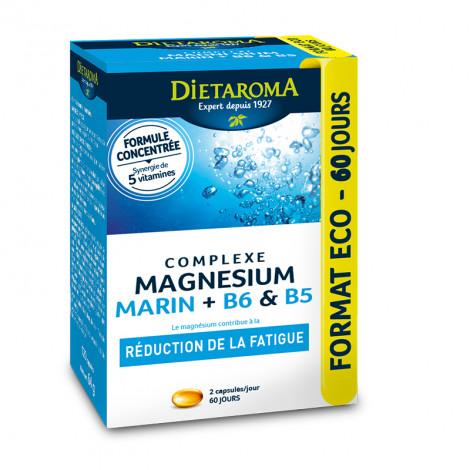 Complexe magnésium marin + B6 & B5 format éco