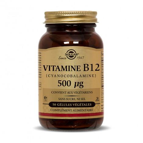 Vitamine B12 500µg