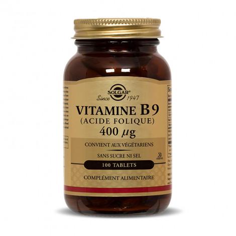 Vitamine B9 (acide folique) 400µg