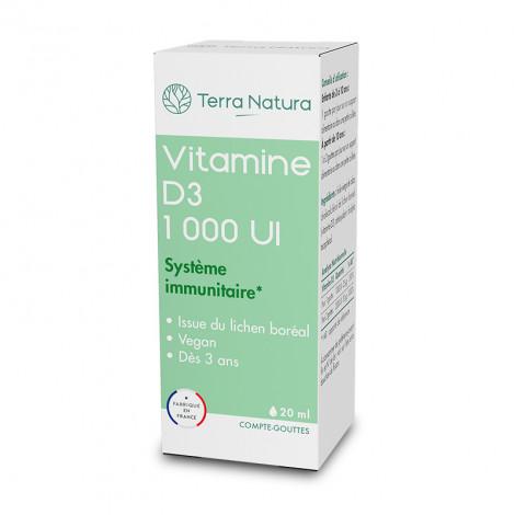 Vitamine D3 végétale - compte goutte