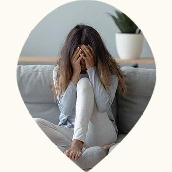 Femme de mauvaise humeur