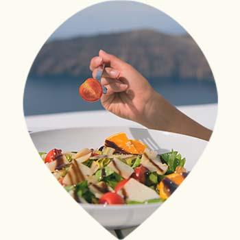 Plat léger en été : salade composée