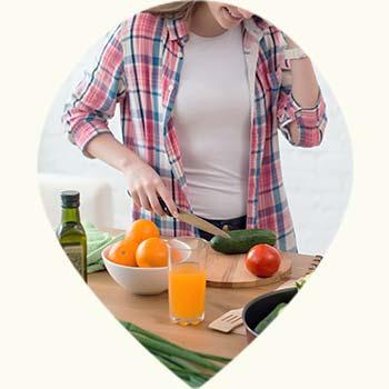 Manger sainement pour un bon système immunitaire