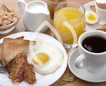 Petit-déjeuner protéiné